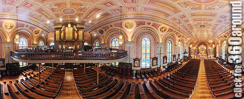 Angel's View of the Choir Loft