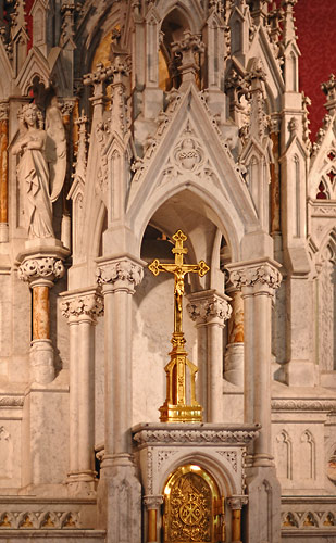 Detail of main altar