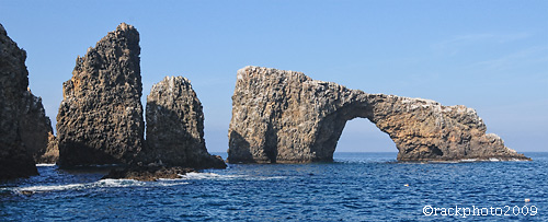 Anacapa Arch is the iconic image for Channel Islands National Park