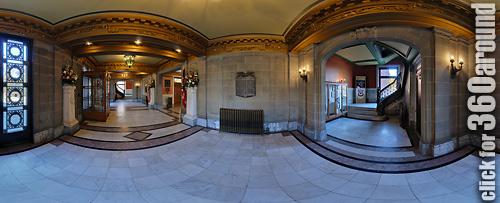 Memorial Hall, Front Hallway