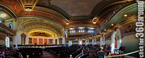 Memorial Hall, Cincinnati, Main Floor Entrance